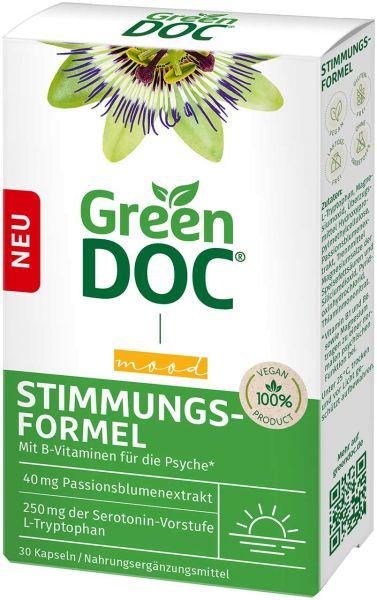 GreenDoc Stimmungsformel Kapseln mit L-Tryptophan